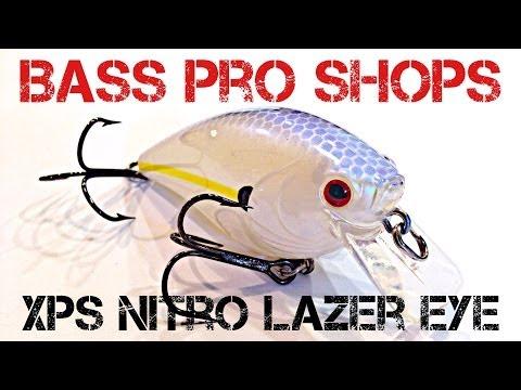 Lure review bass pro shops xps nitro lazer eye for Bass pro shop fishing lures