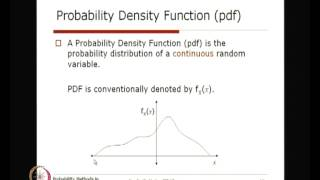 Mod-01 Lec-07 Probability Distribution Of Random Variables