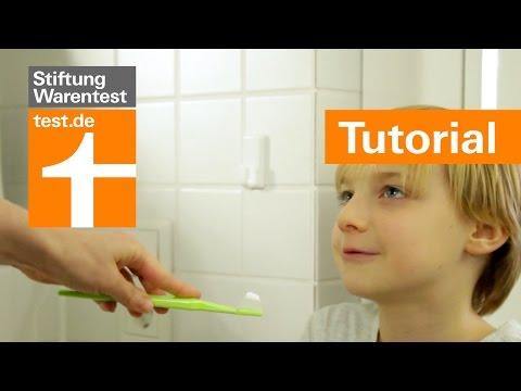 Tutorial: Kinder motivieren zum Zähneputzen, Zahnpflege-Tipps