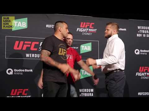 UFC Fight Night Sydney: Werdum vs.Tybura | Meda Day Staredowns