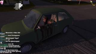 RIP green car... he ends up dying alot on my streams, tune in on twitch  -- Watch live at https://www.twitch.tv/princeprimeval