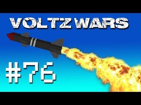 Minecraft Voltz Wars - Raided by David! #76