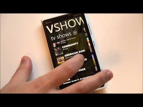 tvshow tv show - Watch TV? Then you need TVShow to keep track of all of your episodes. The app has recently been updated for Windows Phone 8 and we give a tour.