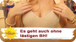 OHNE BH durch den Sommer - TUTORIAL | SAT.1 Frühstücksfernsehen