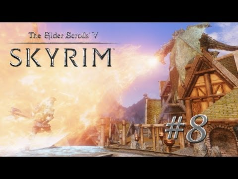 The Elder Scrolls V: Skyrim Gameplay (Modded) - Warrior Nord - Part 8