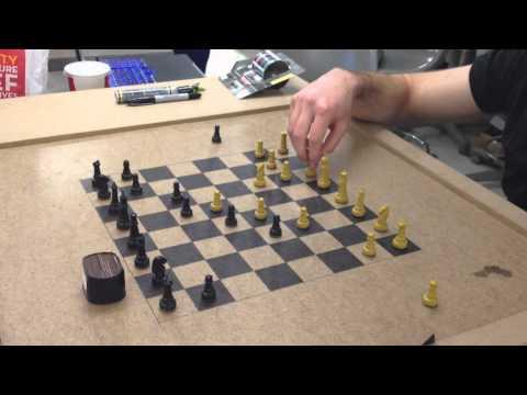 Magiskt schackbräde