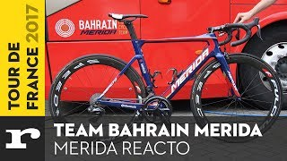 Available to the riders of Bahrain Merida for the 2017 Tour de France is the aero race bike, Merida Reacto. It features a more...