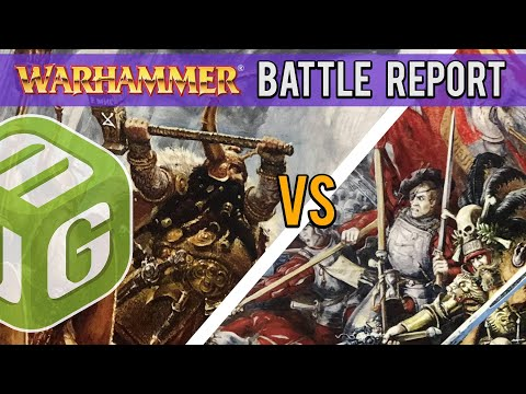 Dwarfs vs Empire Warhammer Fantasy Battle Report - Old World Wars Season 2 Ep 7