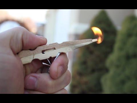 Видео как сделать пистолет из прищепки