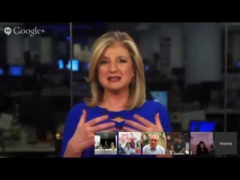 Arianna Huffington, Guy Kawasaki, Rich Sheridan Hangout on entrepreneurship