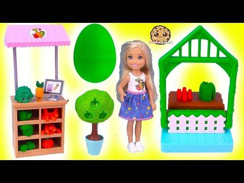 Play doh - Barbie Kid Chelsea Farmer Doh Play Set + Surprise EGG In Garden