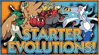 STARTER EVOLUTIONS CONFIRMED?!? ROWLET LITTEN POPPLIO EVOLUTIONS POKEMON SUN AND MOON LEAKS! by aDrive