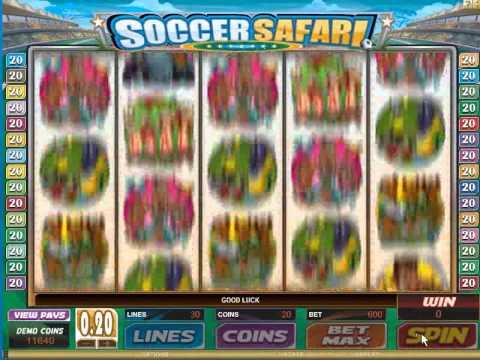 Soccer Safari Slot Game