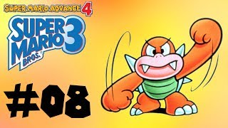 Please leave a Like! Your support is appreciated!Presented by The Gamer's Bench! http://www.gamersbench.com/***This is Part 8 of my playthrough of Super Mario Advance 4, with commentary! We're at the final stretch of the main game now! We've made it to World 8, which is where Princess Peach is being held inside Bowser's castle. We'll have to go through some unique levels filled with numerous enemies and obstacles.The final boss fight against Bowser, as well as the ending and credits, will be featured in the next video. Enjoy!Timestamps for this video:World 8: Bowser's Castle00:30 World 8-Tank 102:20 World 8-Battleship04:23 World 8-Hand Trap 105:19 World 8-Hand Trap 205:54 World 8-Hand Trap 307:14 World 8-Airforce08:52 World 8-112:56 World 8-214:21 World 8-Fortress17:56 World 8-Tank 2Subscribe for more video game playthroughs!http://www.youtube.com/subscription_center?add_user=octaneblueSuper Mario Advace 4: Super Mario Bros. 3 playlist:https://www.youtube.com/playlist?list=PLLh-tvo0zF5TS68XmpjxrKbVVcoeOBGr1The Gamer's Bench -- http://www.gamersbench.com/Gamer's Bench Discord -- https://discord.gg/C2PmWA4Twitter -- http://www.twitter.com/octaneblueDonations -- https://youtube.streamlabs.com/octaneblueFacebook -- http://www.facebook.com/octanebluetubeTumblr -- http://octaneblog.tumblr.com/Google+ -- http://plus.google.com/+octaneblue---Super Mario Advance 4: Super Mario Bros. 3Developer(s): Nintendo EADPublisher(s): NintendoPlatform(s): Game Boy Advance, Wii U Virtual ConsoleRelease Date(s): October 21, 2003 (GBA), January 21, 2016 (Wii U VC)Endscreen by Sandstormer! http://www.twitter.com/Sandstormer2