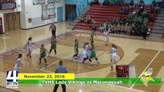 TVHS Girls Basketball vs. Maconaquah