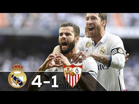Real Madrid vs Sevilla 4-1 All Goals 14-5-2017