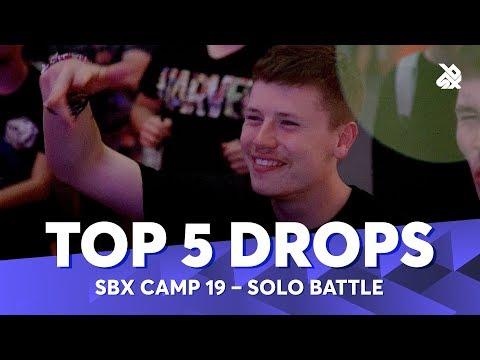 TOP 5 DROPS 😱 SBX Camp Student Solo Battle 2019