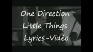 OneDirectionVEVO - Little Things Lyrics