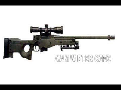 Warface - AWM Winter CAMO by ArtemWhite