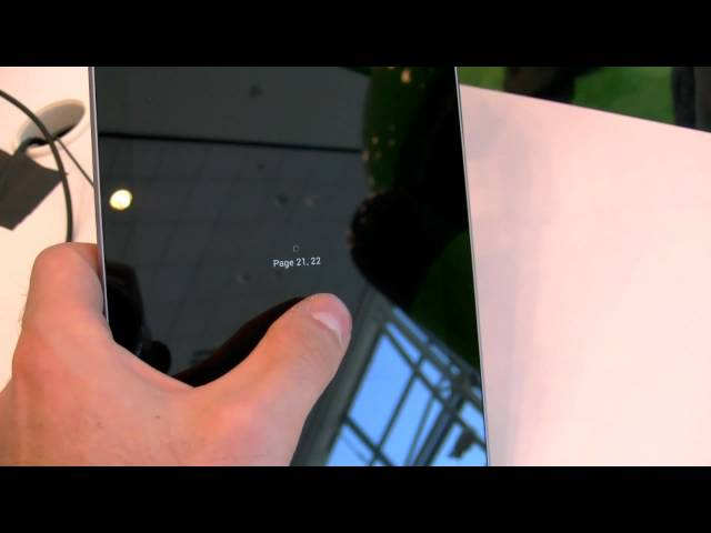 Hands-on with the Nexus 7 tablet from Google I/O - MobileSyrup.com