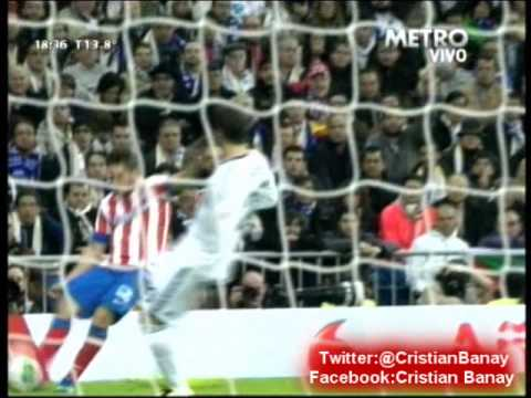 madrid - Los goles del partido con relato de Cristian Garofalo Canal Metro Cablevision Atletico de Madrid Campeon Copa del Rey 2013.