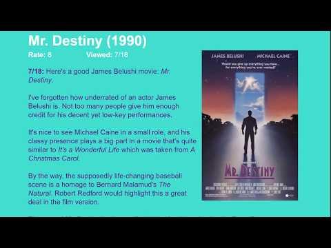 Movie Review: Mr. Destiny (1990) [HD]