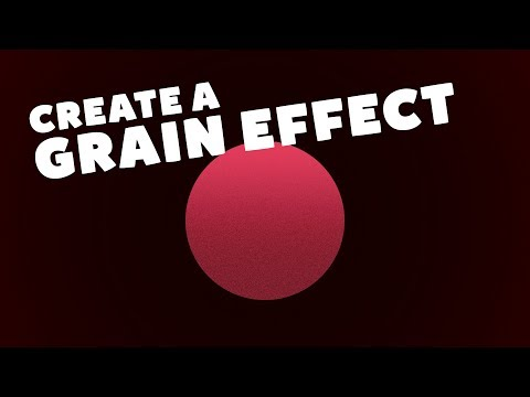 How To Create Grain Effects In Adobe Illustrator CC