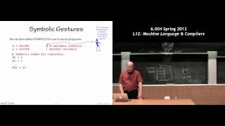 MIT 6.004 L12: Machine Language And Compilers