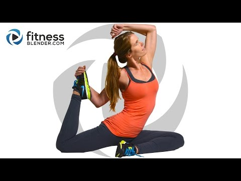 At Home Cardio and Abs Workout – Fat Burning Core and Cardio Intervals