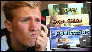 Which Minecraft Biome Update Are You Voting For!? | MY THOUGHTS + VOTE!! *Minecon 2019*