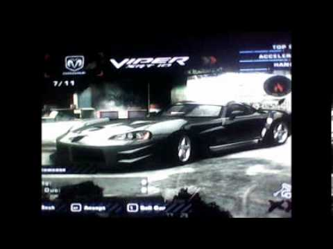los carros mas bacano de need for speed most wanted