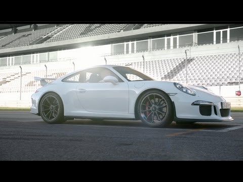 The new Porsche 911 GT3: First official driving shots