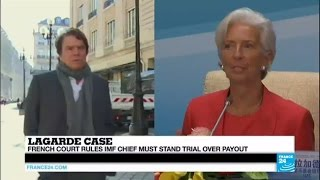 La Garde France  city photo : Lagarde case: French court rules IMF chief must stand trial over payout