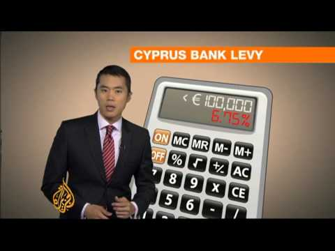 Bailout - The president of Cyprus has been trying to fend off an angry backlash over a $13bn bailout for the banks. Under the deal, savers will be forced to hand over ...