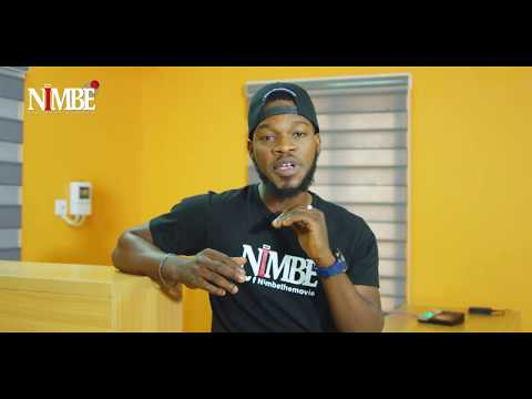 Broda Shaggi passing key messages on Nigerian Movie NIMBE 2019