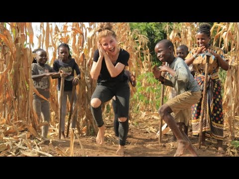 Masaka Kids Africana Dancing Joy Of Togetherness ft 3wash_hip_hop & Karina Palmira
