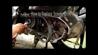 5. How to Replace Scooter Drive Belt