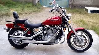 1. Honda Shadow 1100 Spirit - 05 Impecable