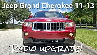 8. Jeep Grand Cherokee 11-13 [Installation & Review] Radio Updrade - Aftermarket - GPS - Touch Screen