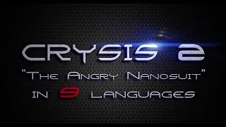 """Video Crysis 2 - """"The Angry Nanosuit"""" In 9 Languages MP3, 3GP, MP4, WEBM, AVI, FLV Desember 2017"""