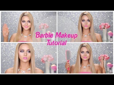 make up tutorial - come trasformarsi in barbie