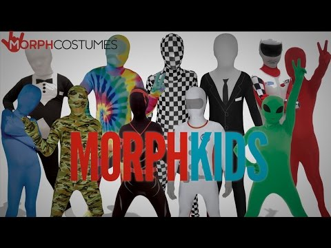 MorphKids - Costumes with MorphFright this Halloween!