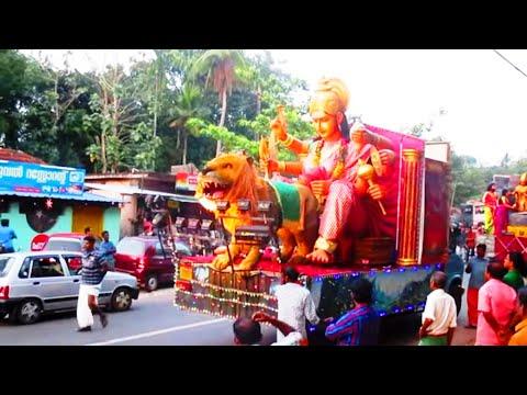 Kerala Temple Festival Floats | Floats in a Temple Festival Procession | ഉത്സവ ഫ്ളോട്ടുകൾ | Ulsavam