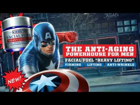 Superhero Skincare   Kiehls & Marvel present Captain America: Transformation & Triumph