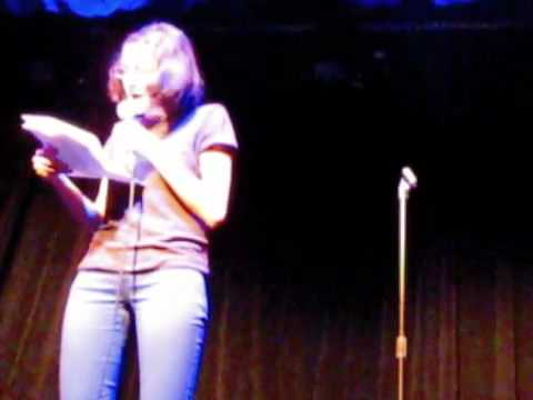 Stand-up Clips - Comedy School Graduation Speech & Eating Disorder