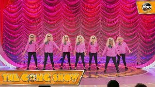 Watch this act, The Tappettes, from The Gong Show 1x4 Celebrity Judges: Ed Helms Alison Brie Will Arnett Watch more acts on The Gong Show Thursdays at 109c ...