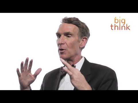 Bill Nye: Teaching Evolution? Think Thriller.