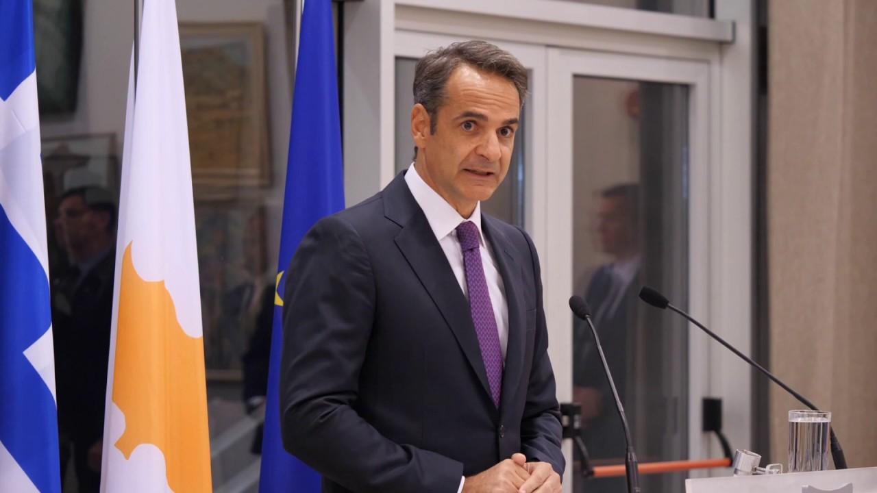 Αντιφώνηση Κυριάκου Μητσοτάκη στο δείπνο του Προέδρου της Κυπριακής Δημοκρατίας