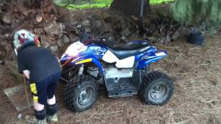 9. Polaris Outlaw 50 - Practicing Riding Skills