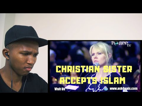 NON MUSLIM REACTS TO Christian Sister Accept Islam After She Got Her 2 Answer - Dr. Zakir Naik